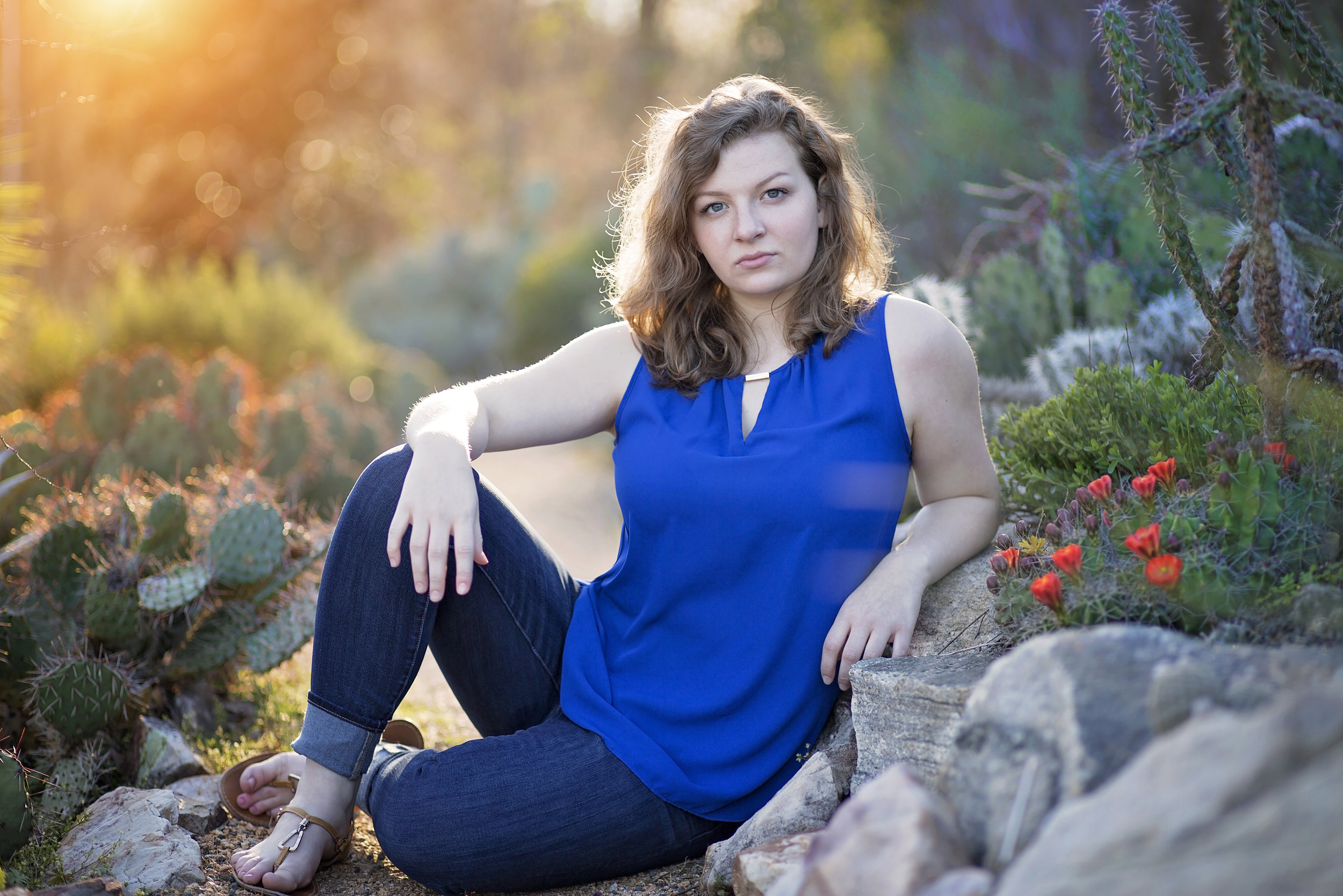 clemson sc pickens senior portrait photographer