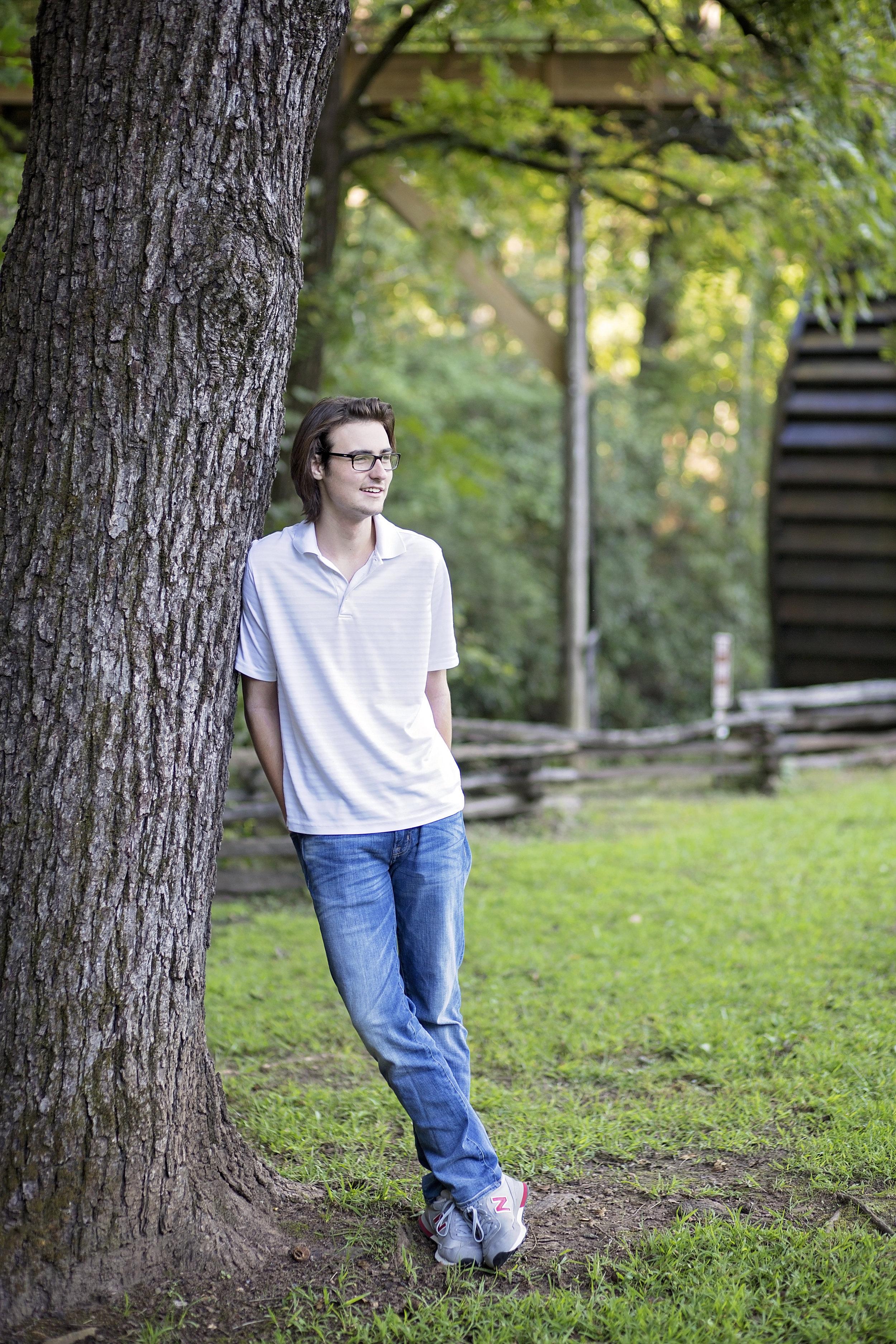 pickens high school senior portrait photographer sc