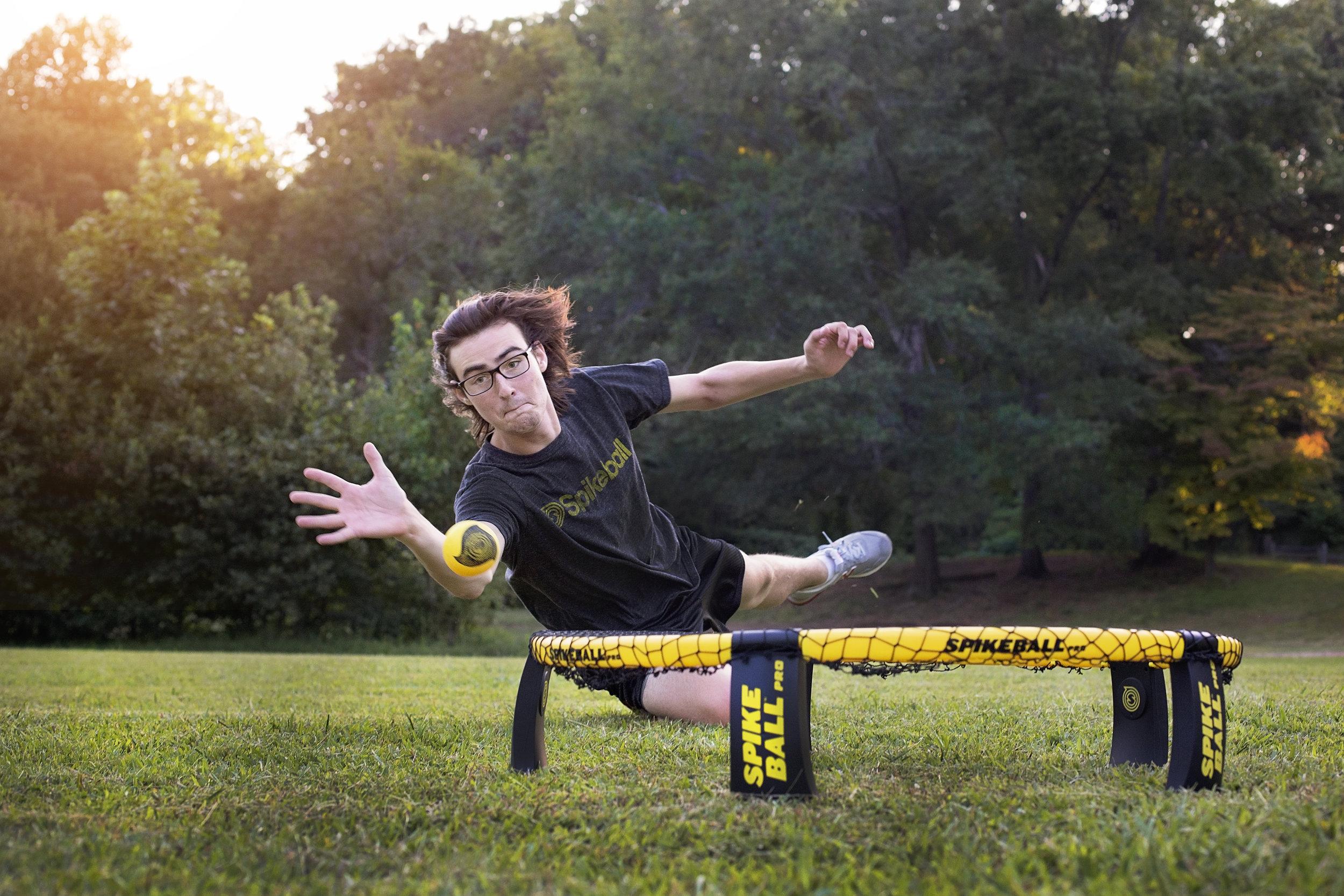 spike ball senior portraits pickens high school sc photographer