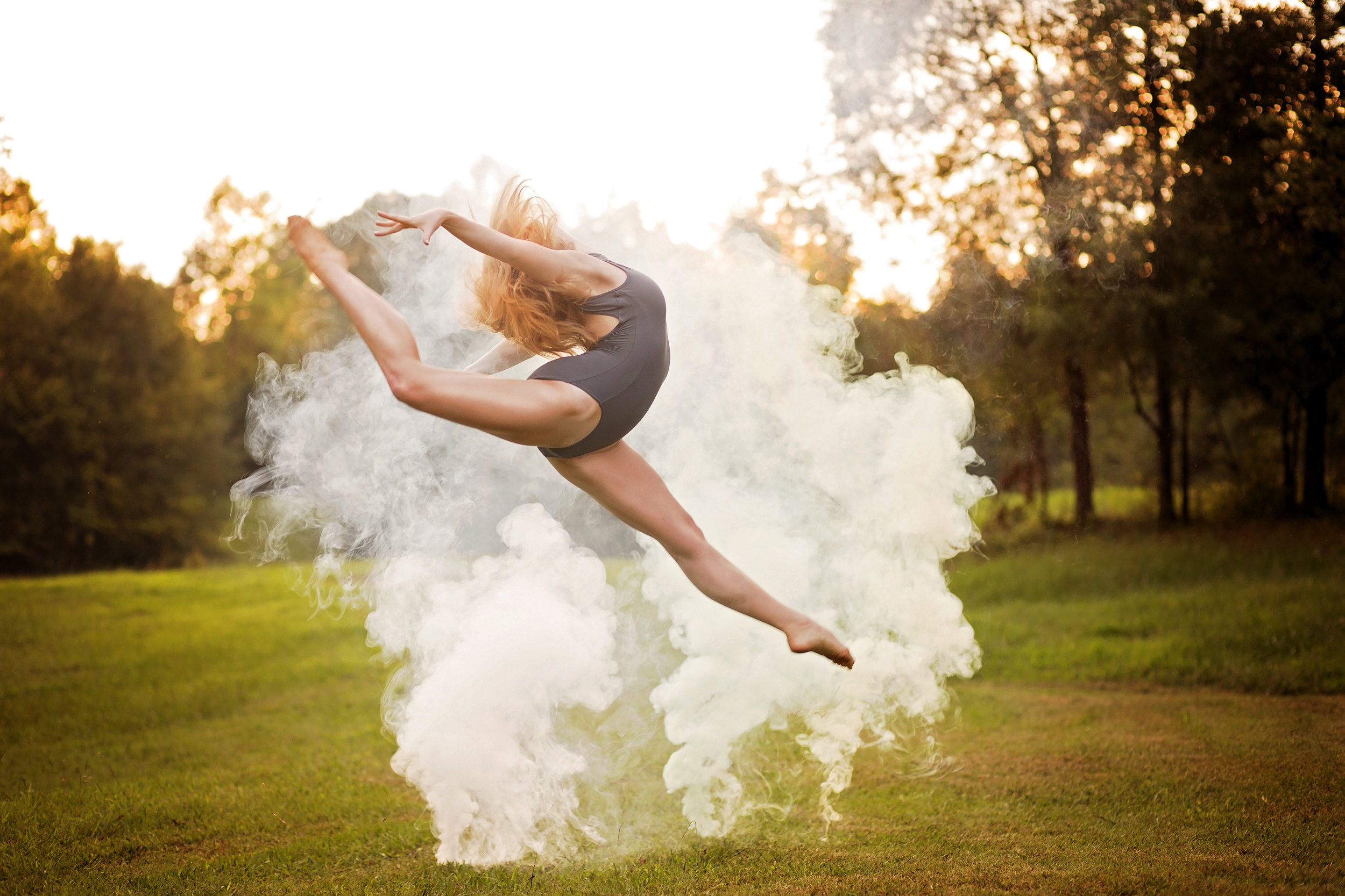 dance photographer south carolina smoke bomb dance photography