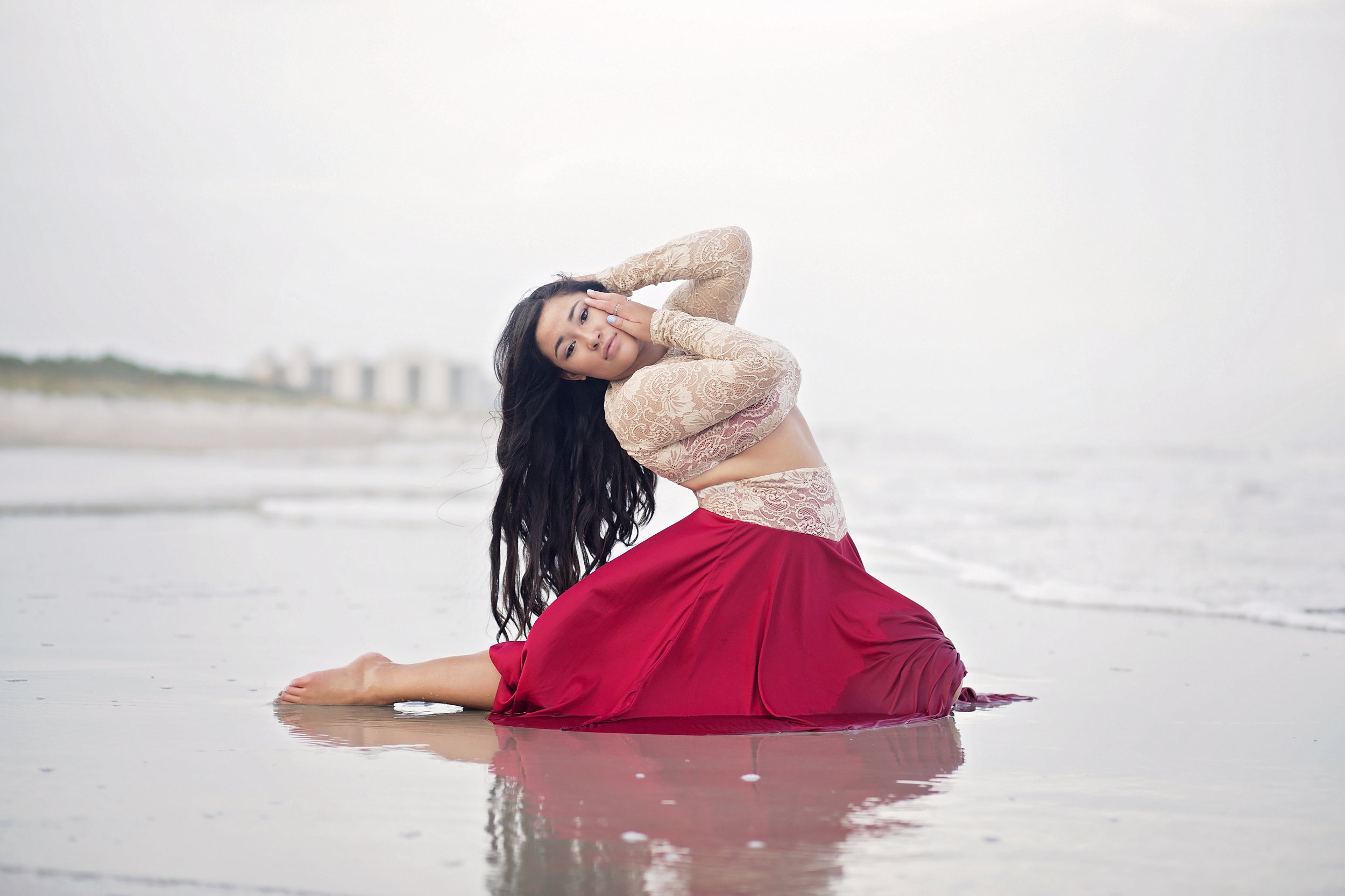 beach dance photography