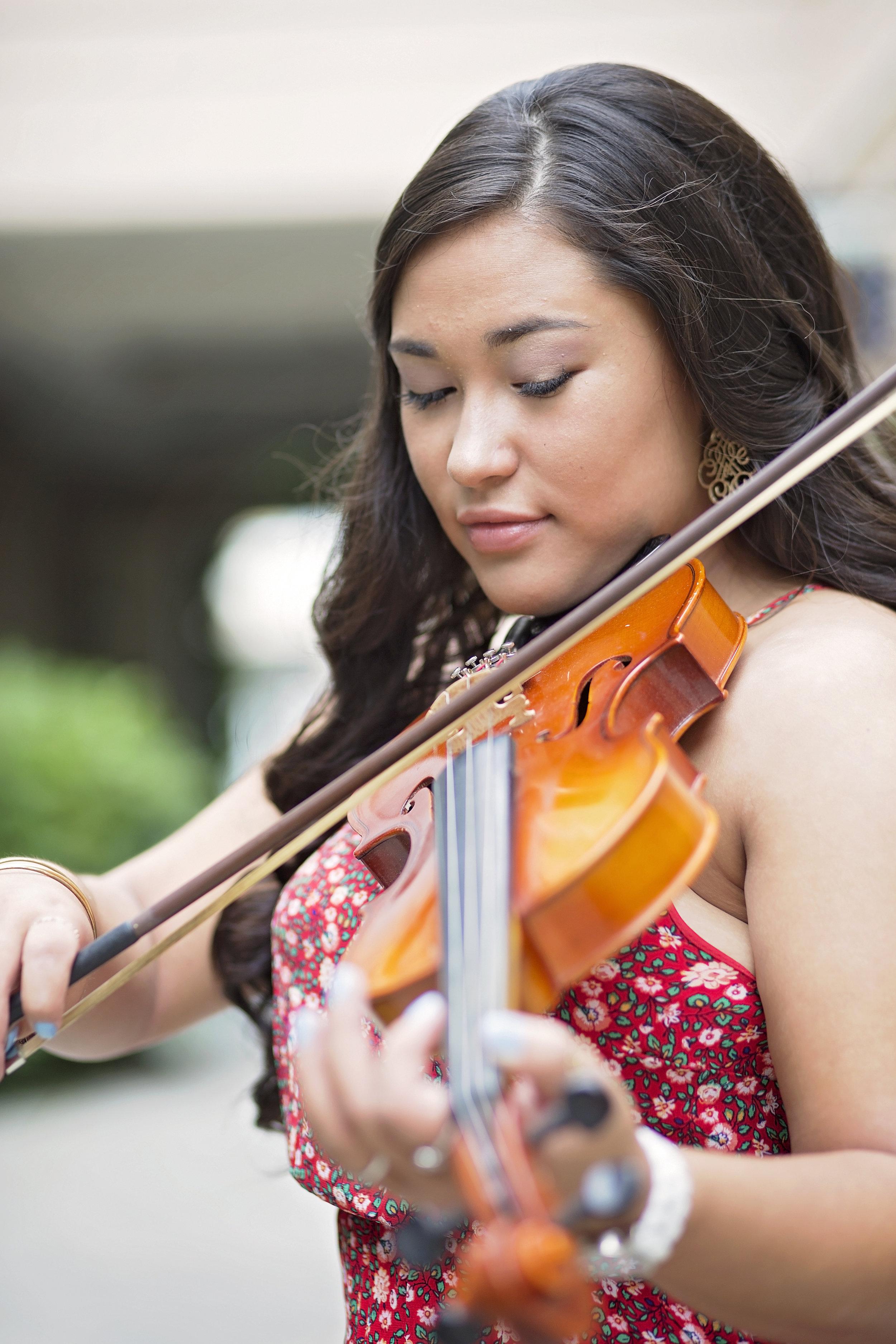 violin senior portraits south carolina