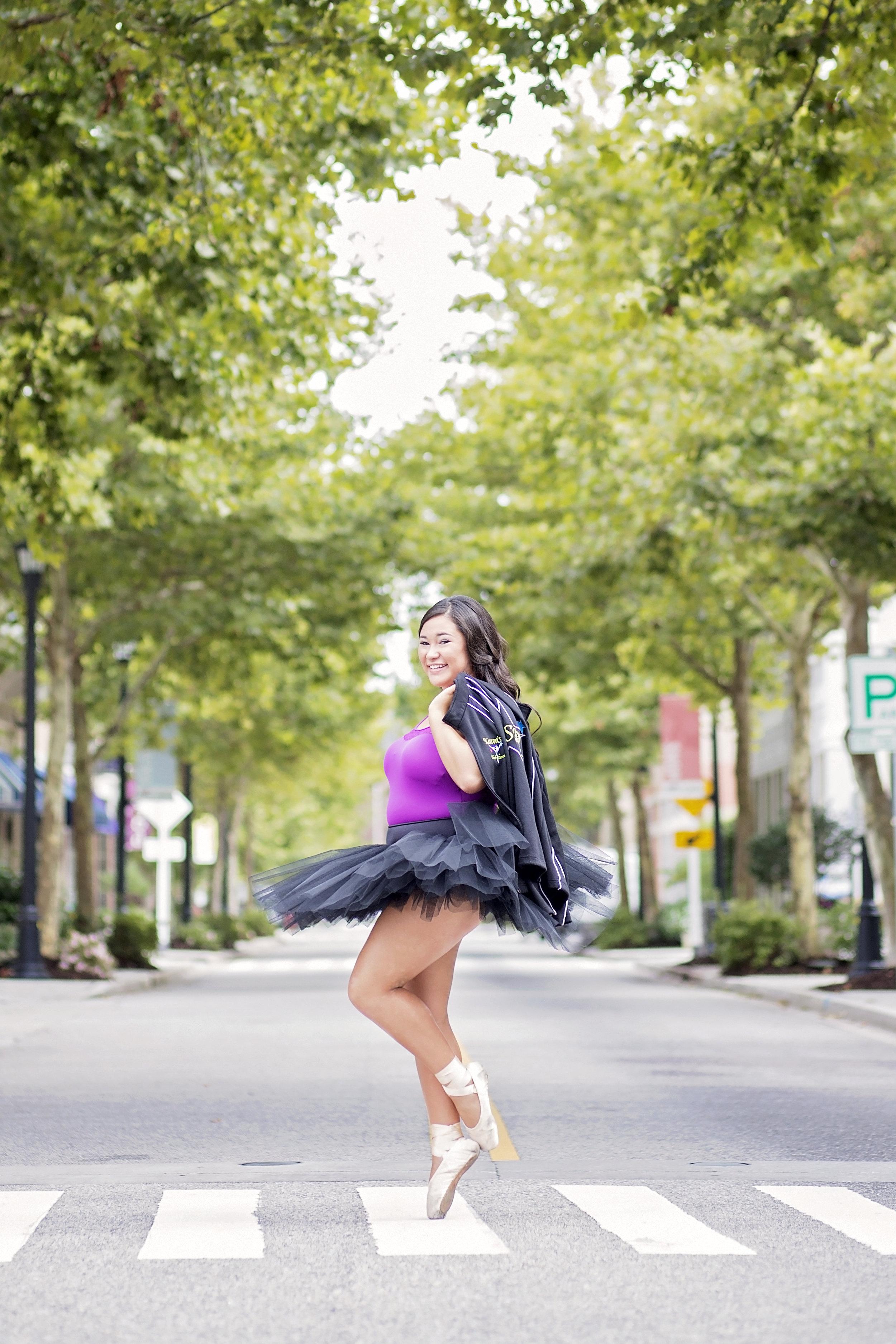 dance senior portraits south carolina