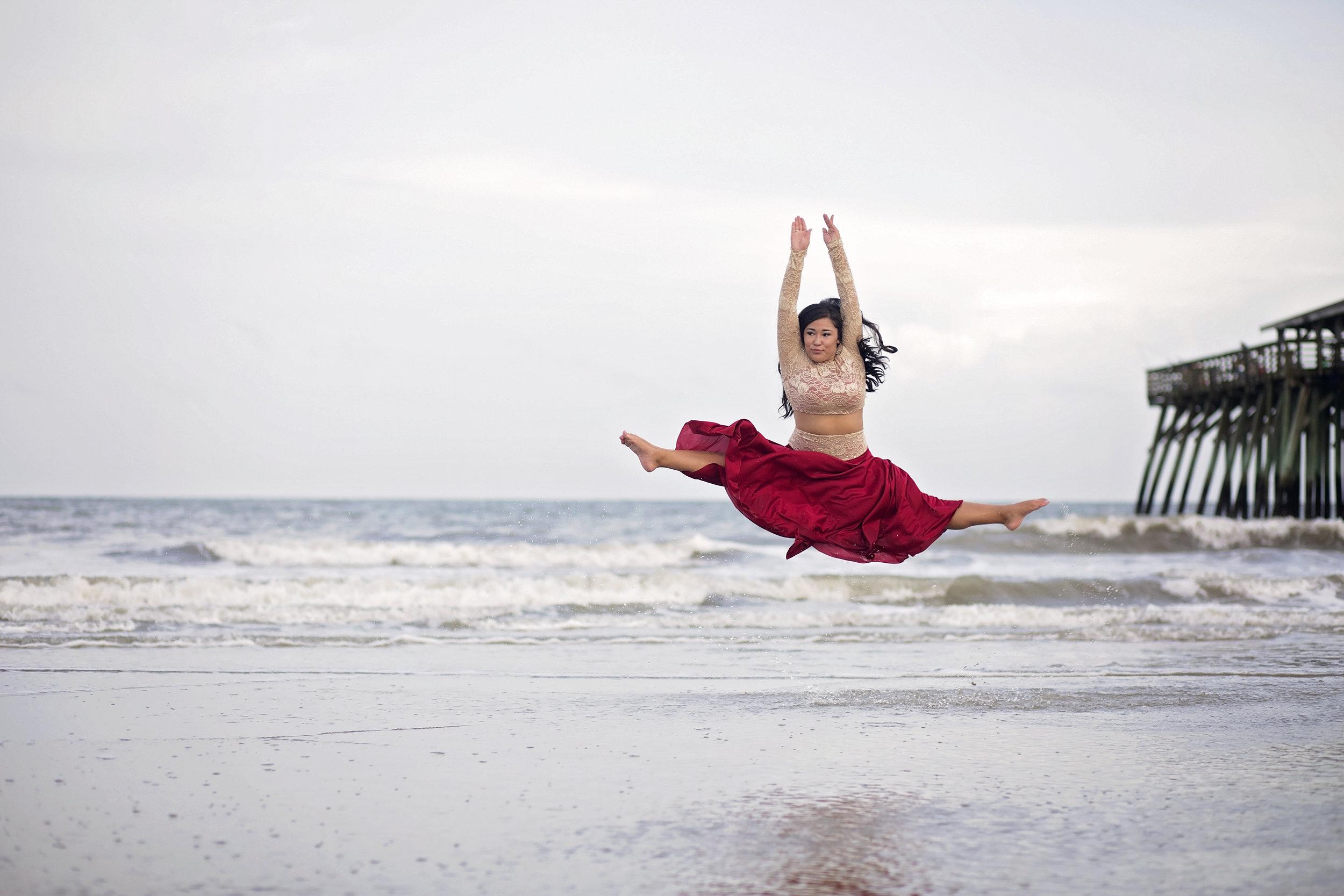 south carolina beach dance photography