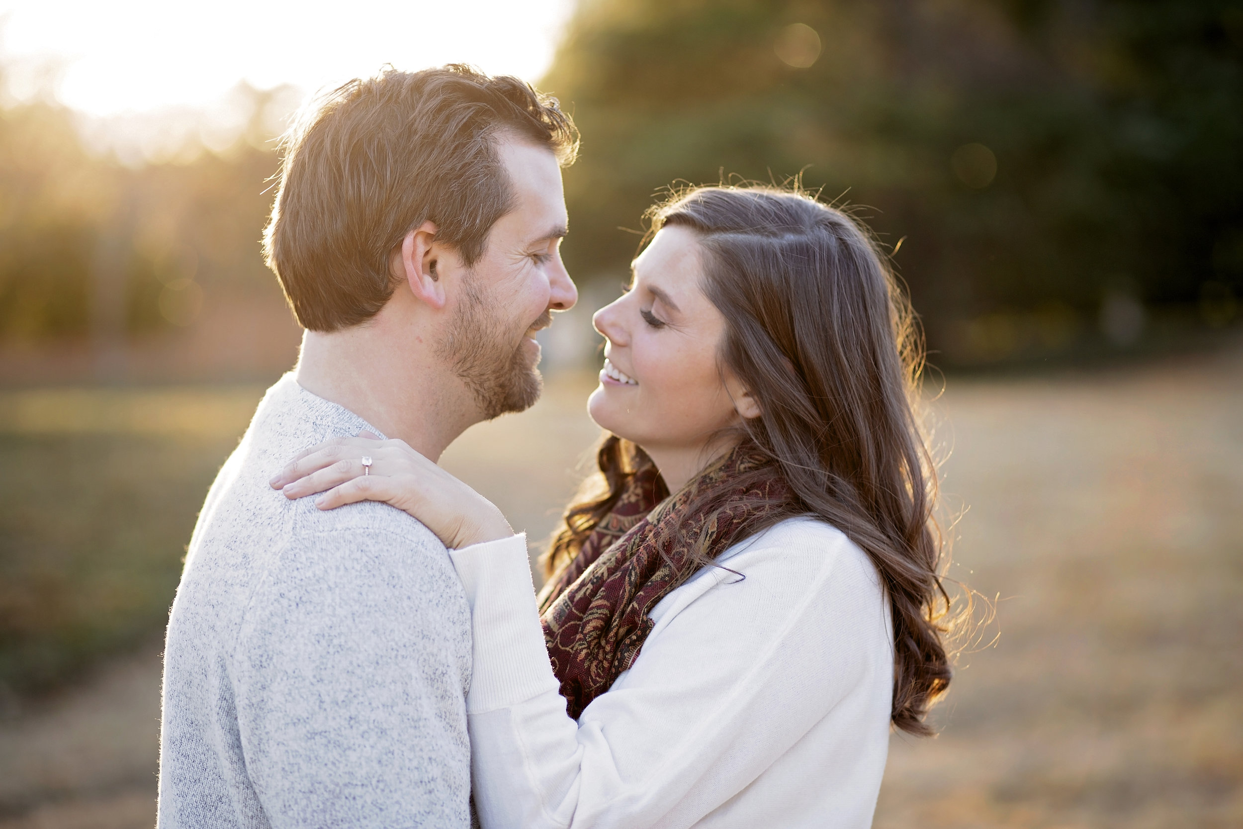 Pickens SC engagement photographer portraits the reserve at lake keowee