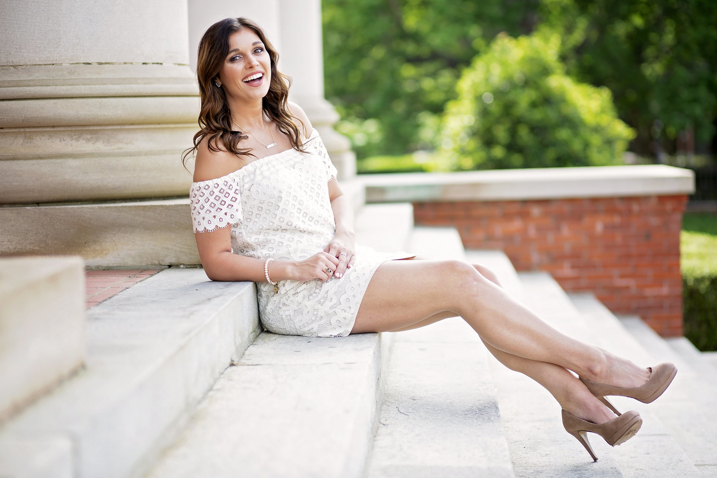 clemson university senior portrait photographer