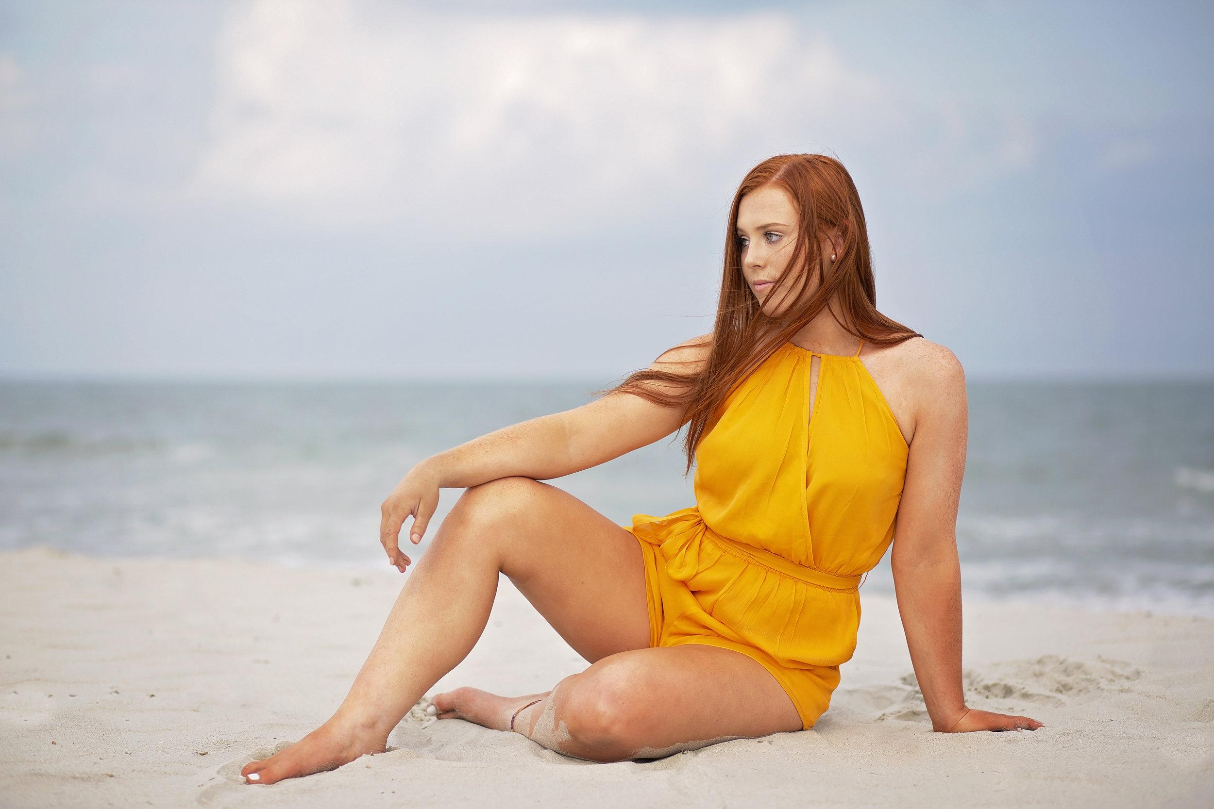 senior portrait photographer myrtle beach