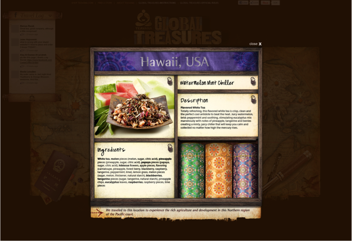 Microsite: Global Treasures