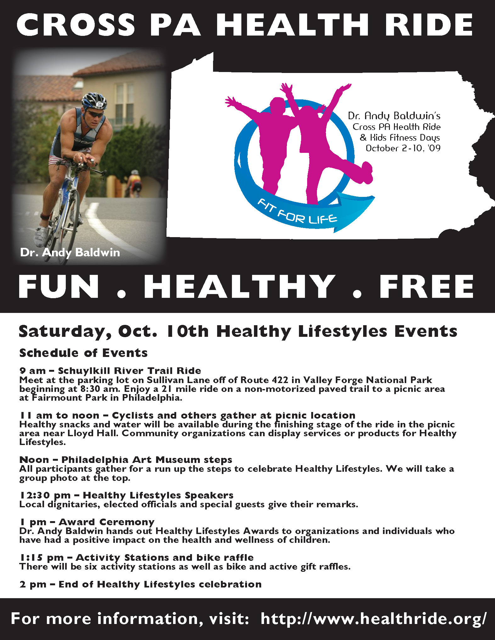 Promotional Flyer: Fit For Life