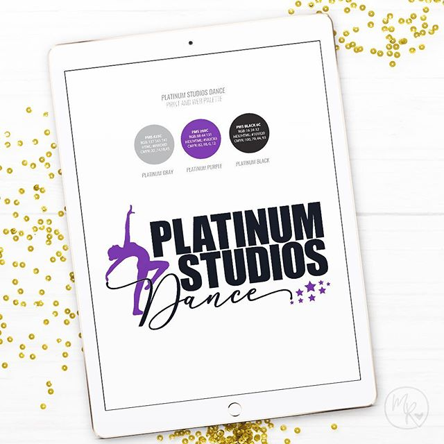 A brand new look for Platinum Studios Dance in Rochester, Minnesota. 💃 . #design #art #marketing #instadesign #instamarketing #graphicdesign #logo #illustration #branding #graphicdesigner #graphic #photoshop #freelancer #websitedesign
