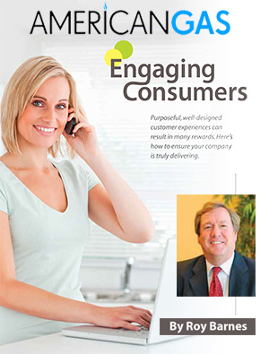 READ ENGAGING CONSUMERS - 4 STEPS TO ENHANCING CUSTOMER EXPERIENCE BY ROY BARNES, PUBLISHED IN THE APRIL 2012 ISSUE OF AMERICANGAS MAGAZINE.