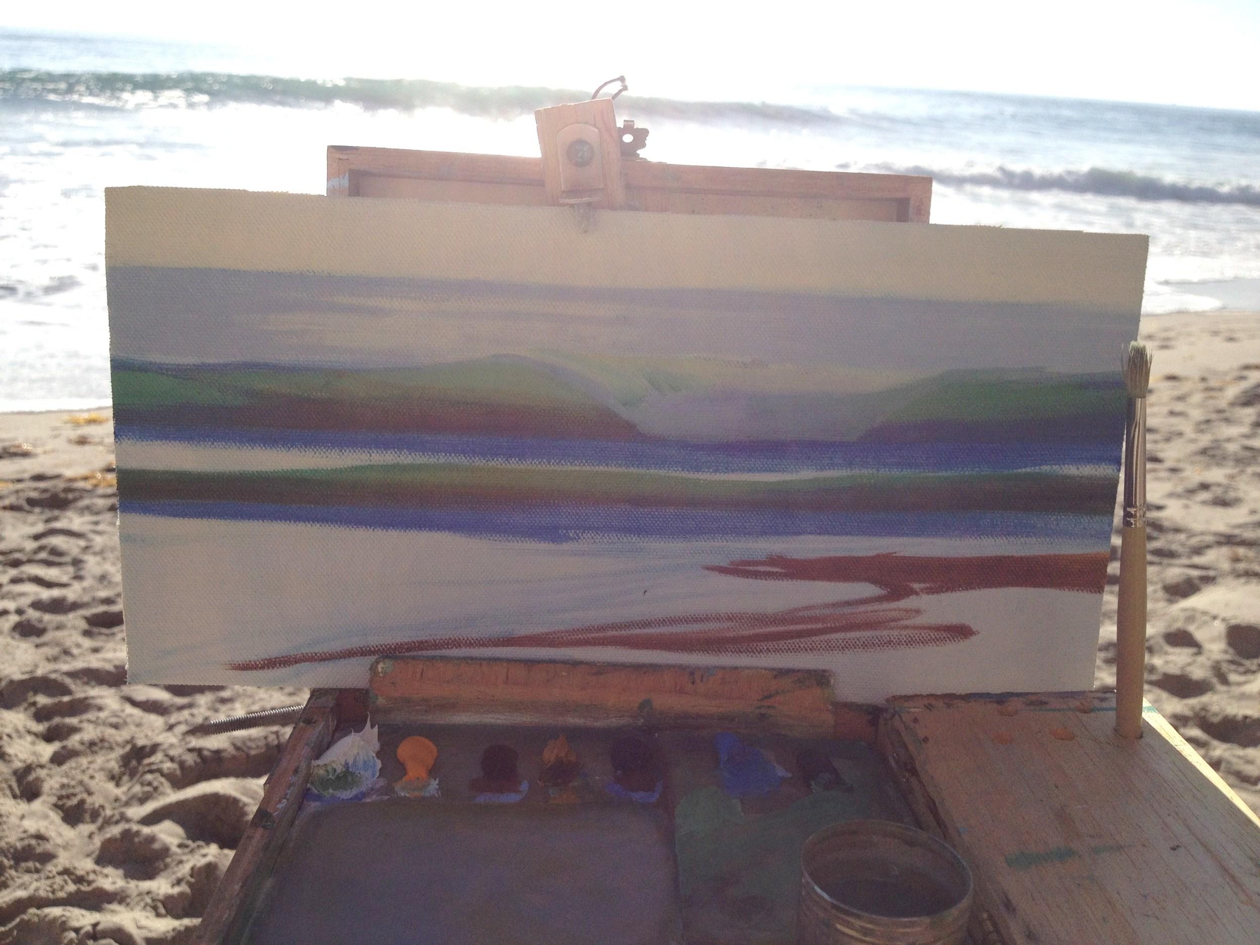 Plein Air Painting: Step Three