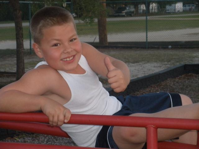 "Matthew ""Matty"" Waldrup, Age 7, Avon Park, FL"