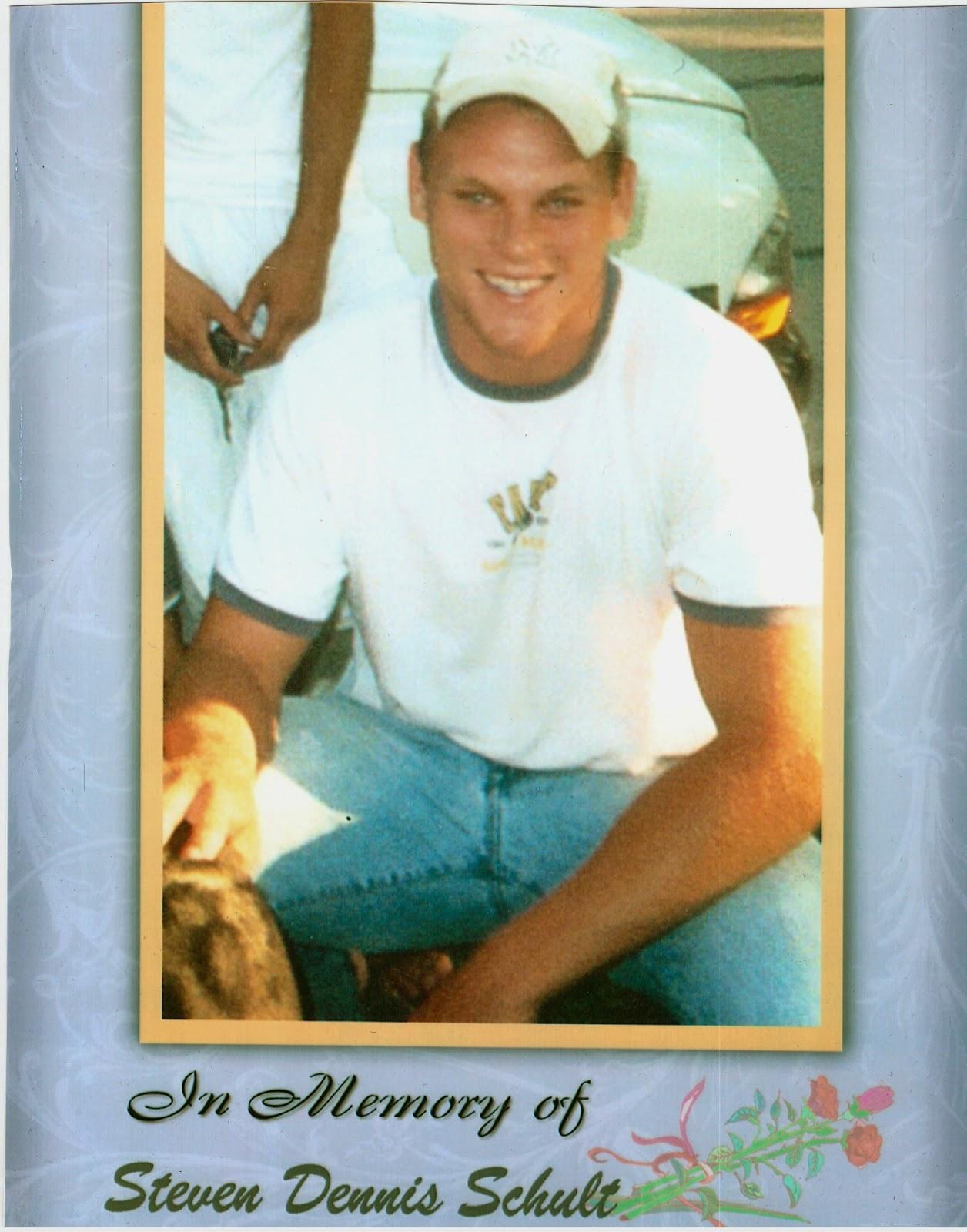 Steven Dennis Schult, Age 21, Valley, NE