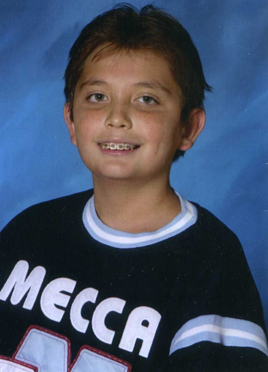 Tim Hill, Age 12, North Las Vegas, NV