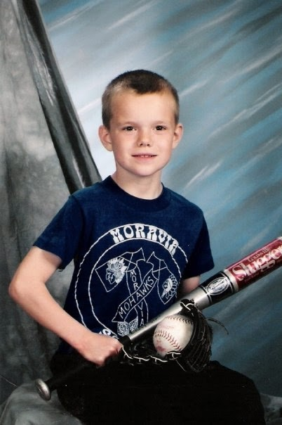 Christopher Starr, Age 8, Unionville, IA