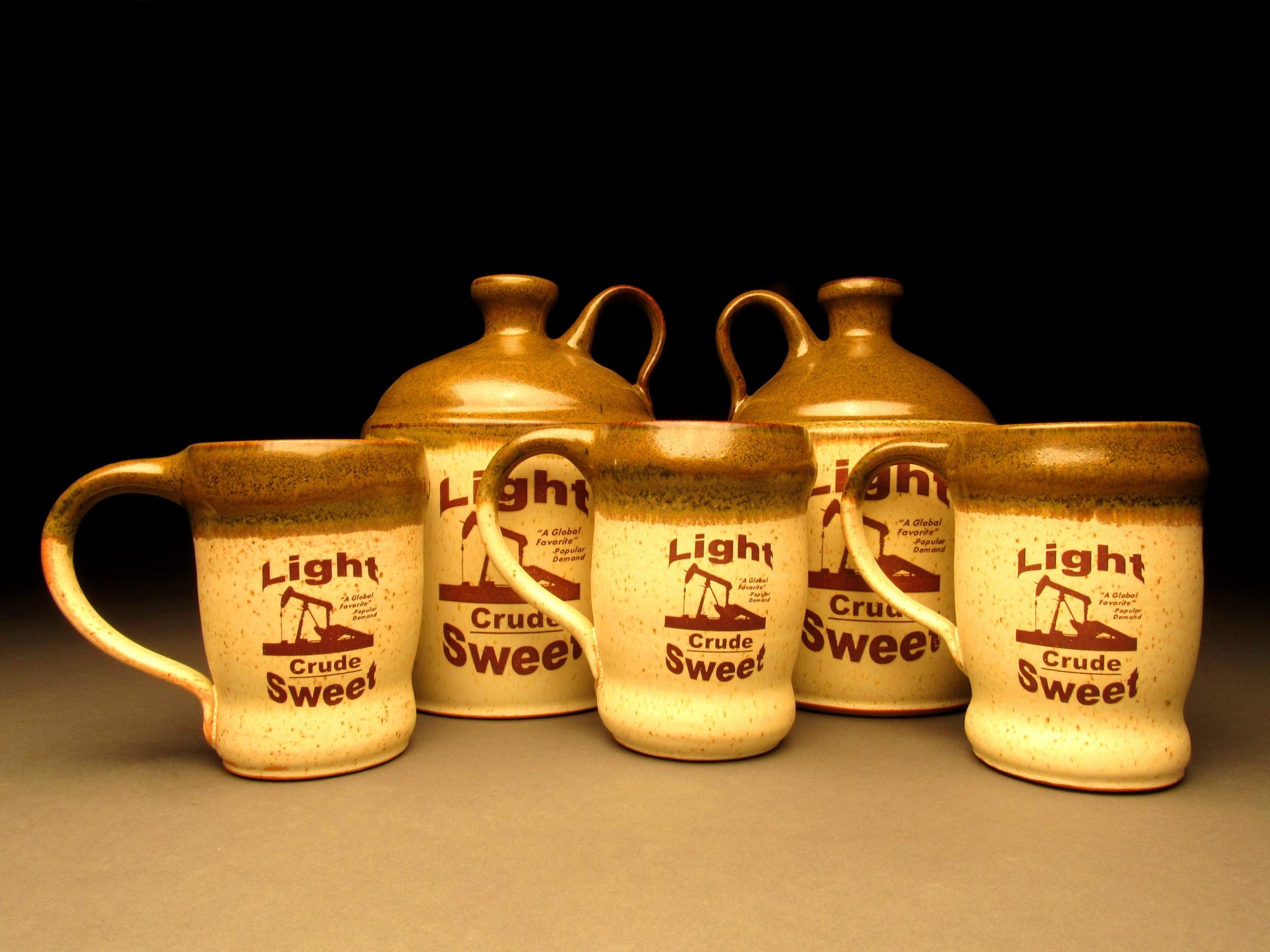 Light Sweet Crude Mugs and Jugs.JPG