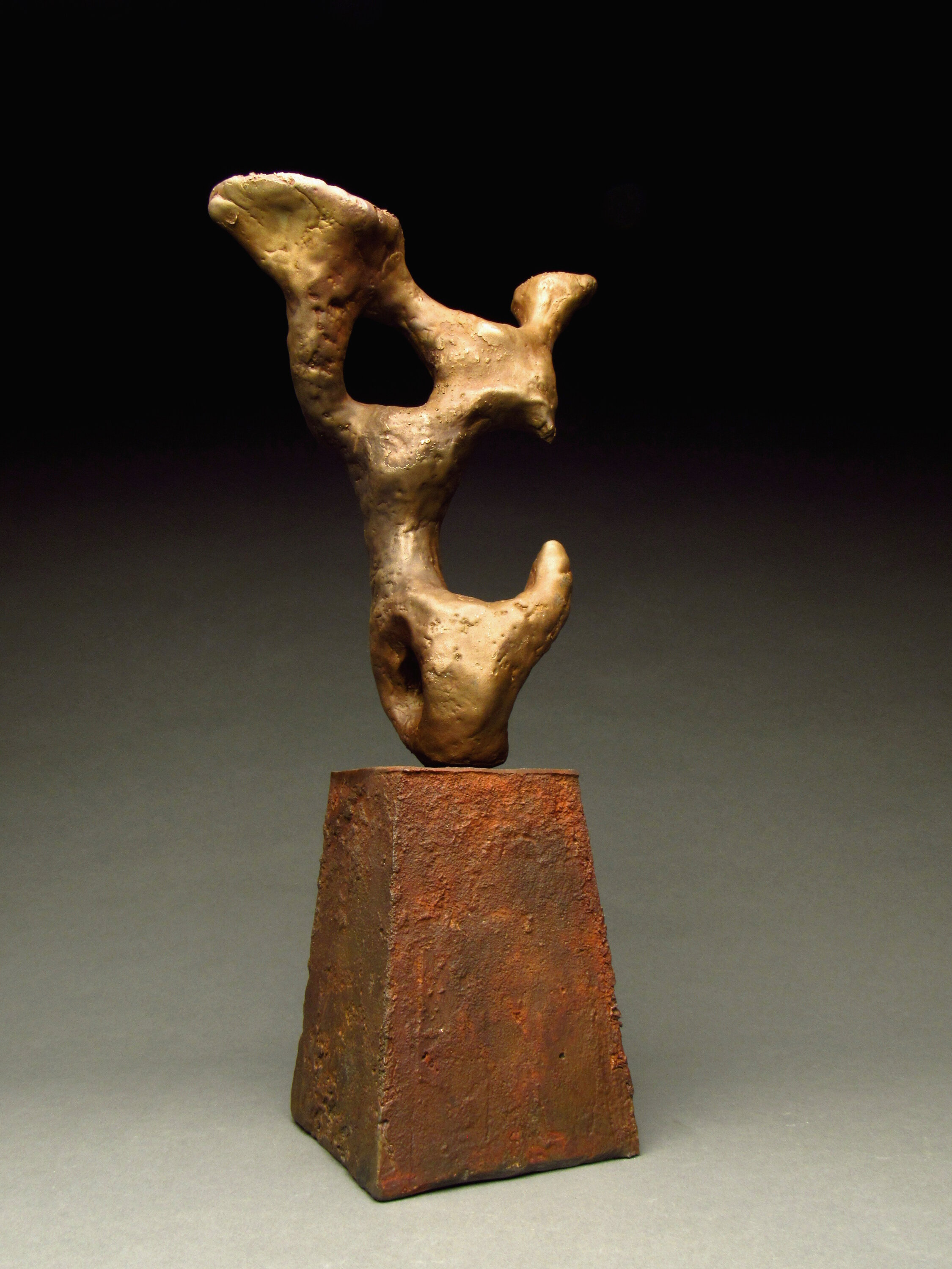 Abstract form 3. Bronze, Iron. 2016
