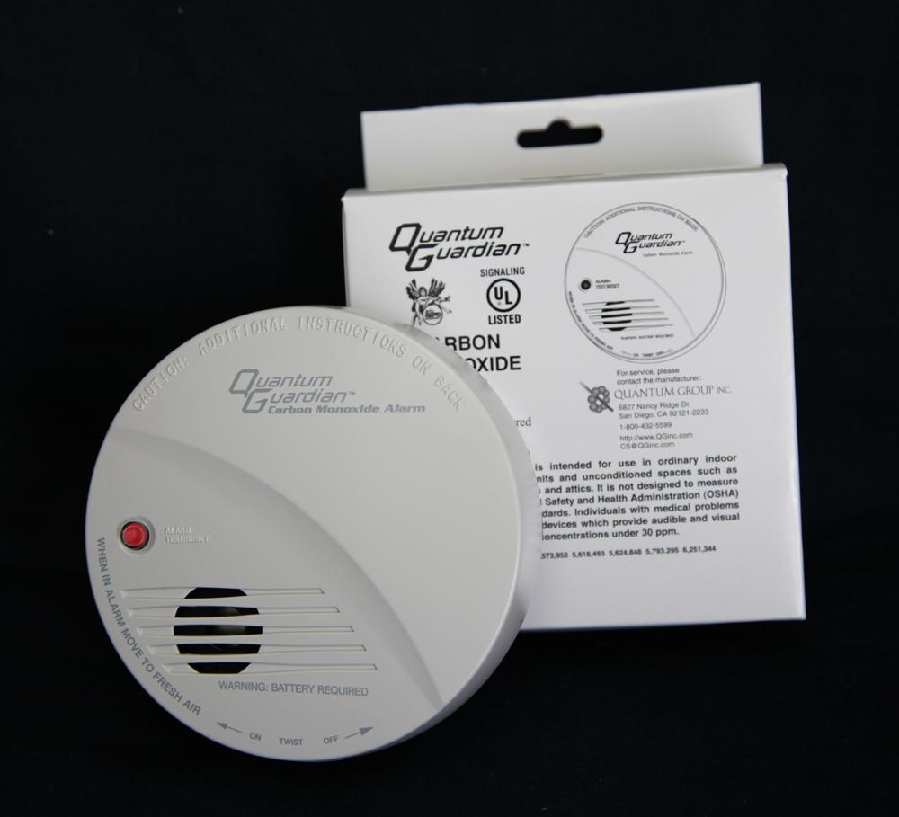 Quantum Guardian® QG-100 Carbon Monoxide RV and Home Detector