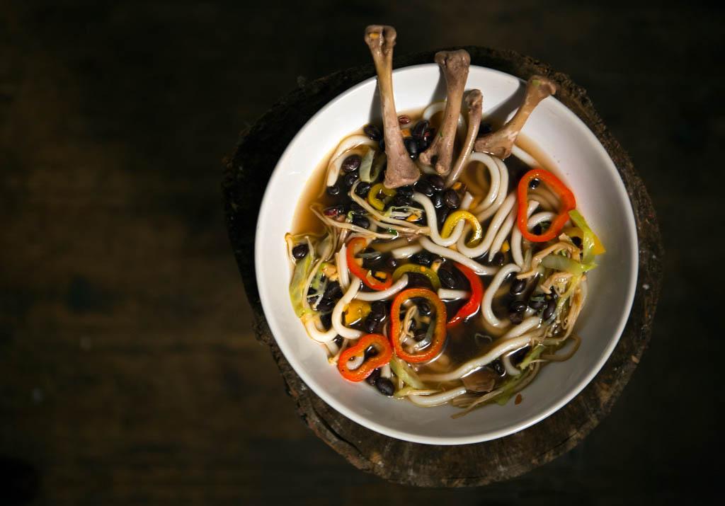 Campbell's Black Bean Soup (Photo: Elena Sandrone)