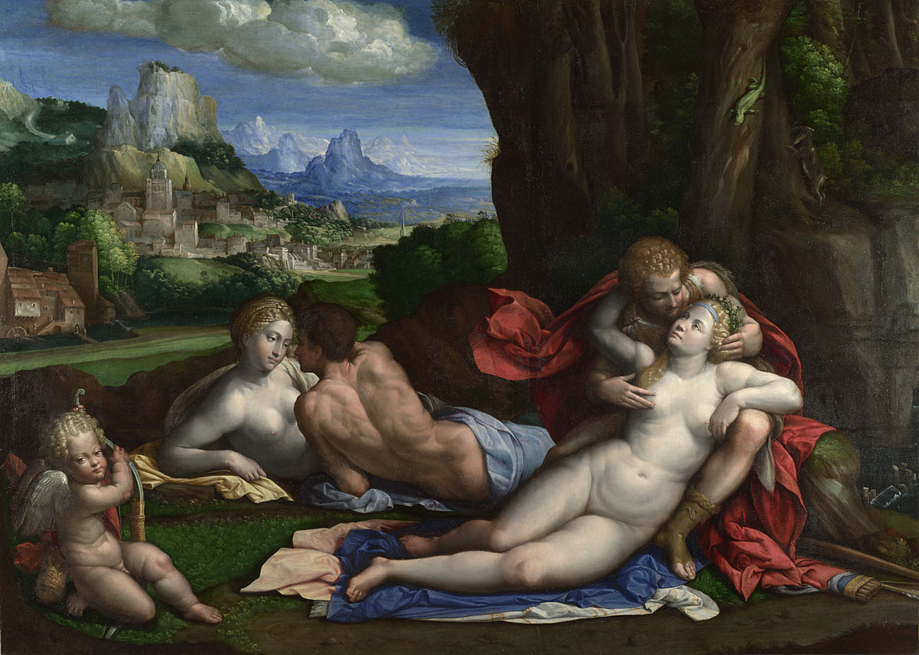 Garofalo. An Allegory of Love. 1527-39 © The National Gallery, London