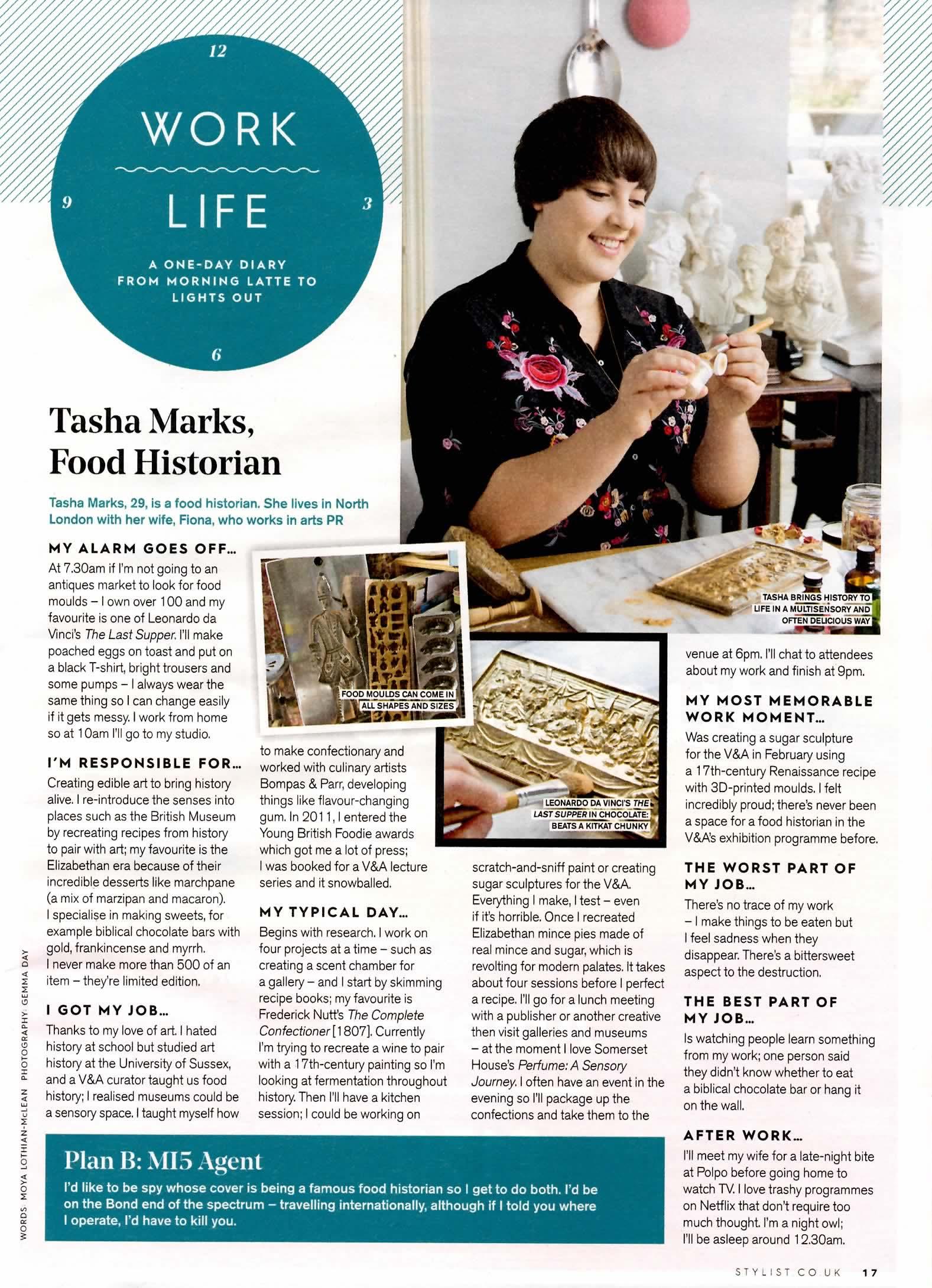 Tasha Marks - Work Life - Stylist - 30th August 2017