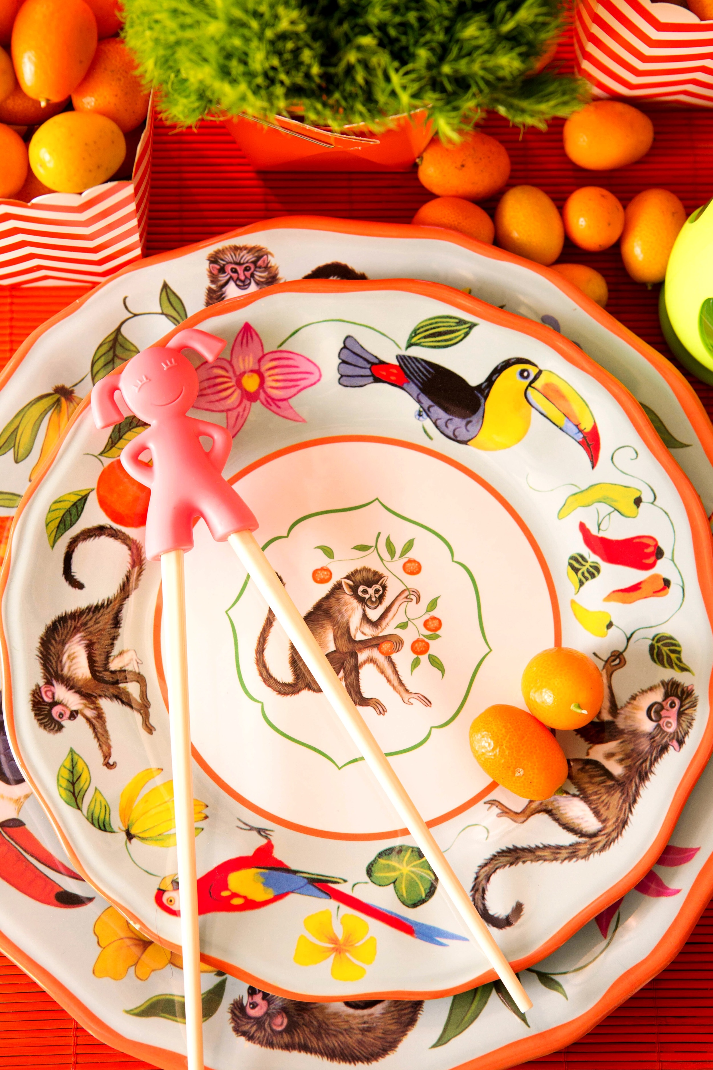 Kid's Table Chinese New Year.JPG
