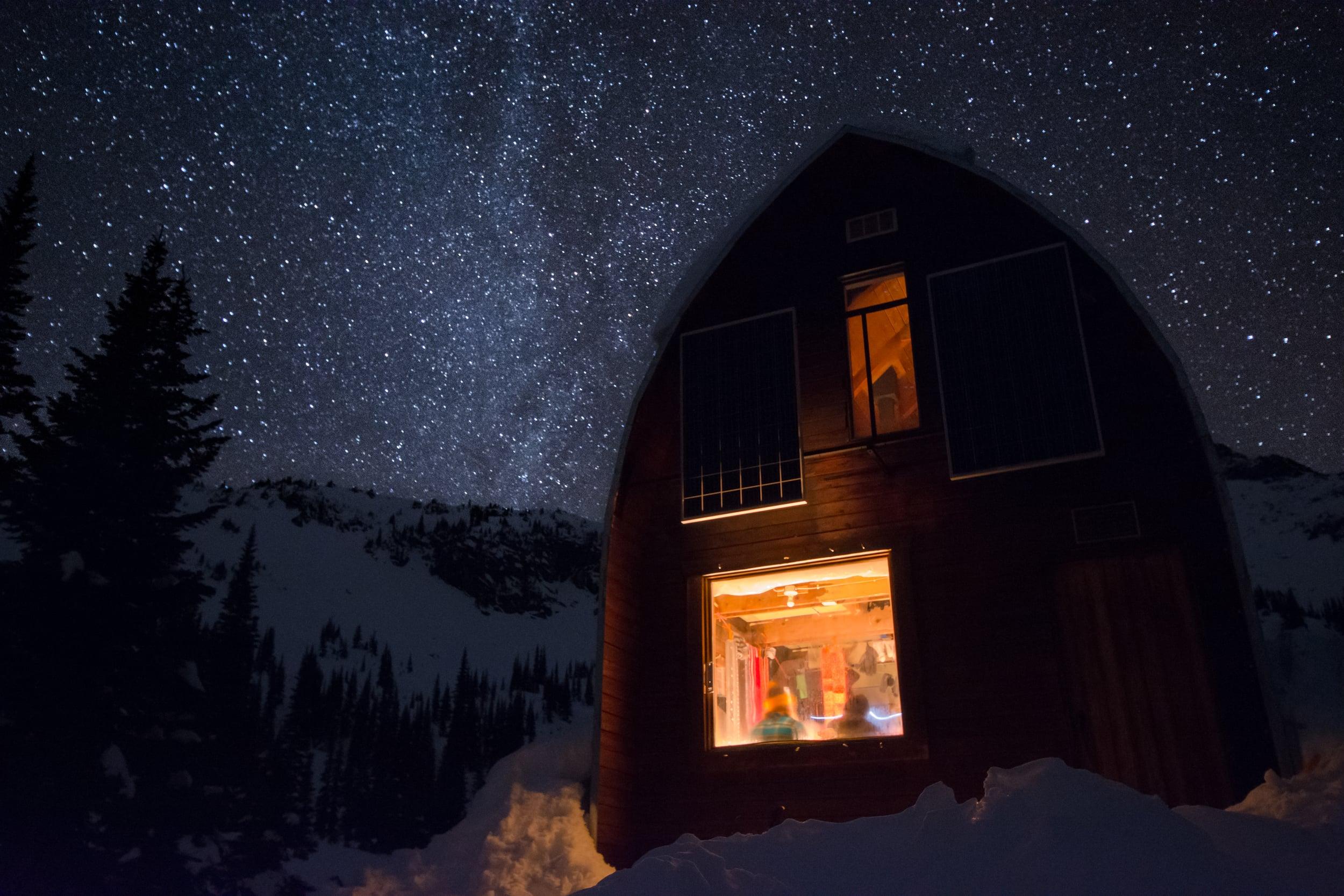 Hut at Night II