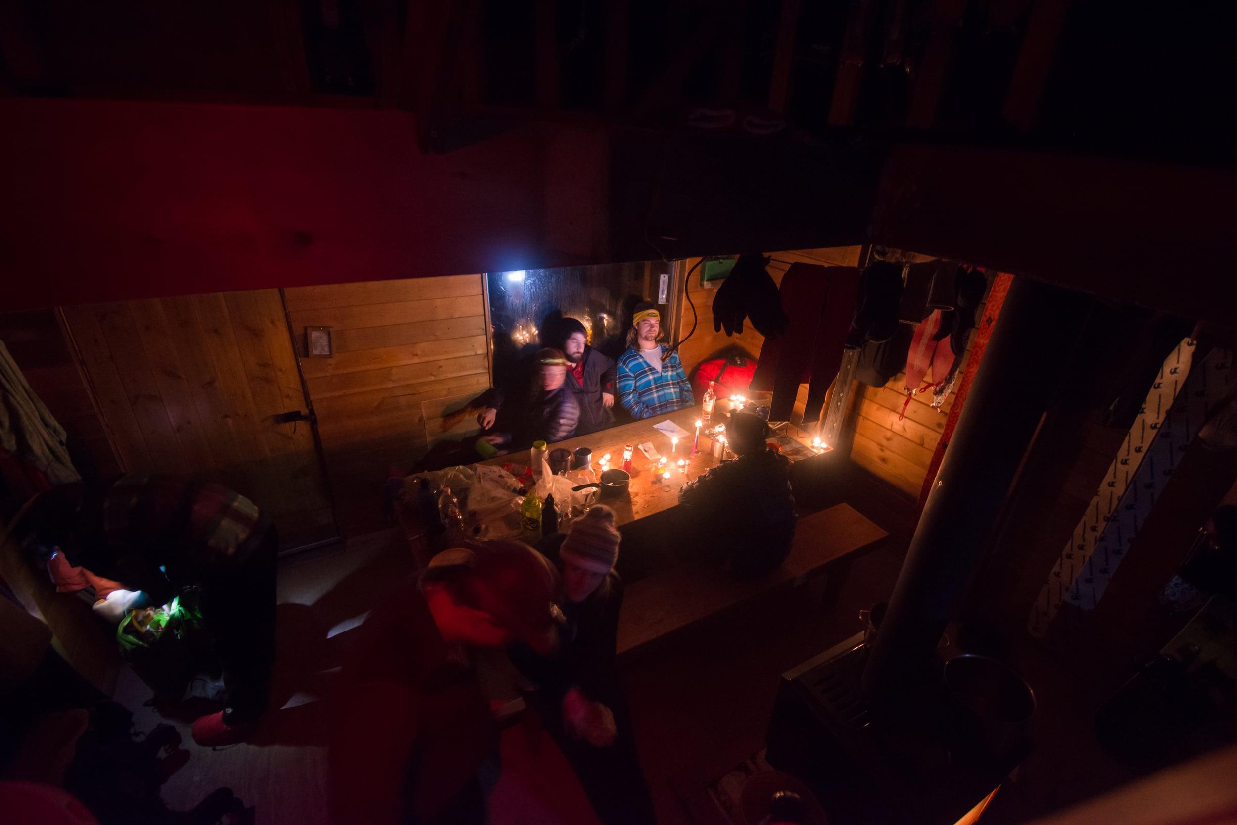 Hut at Night III