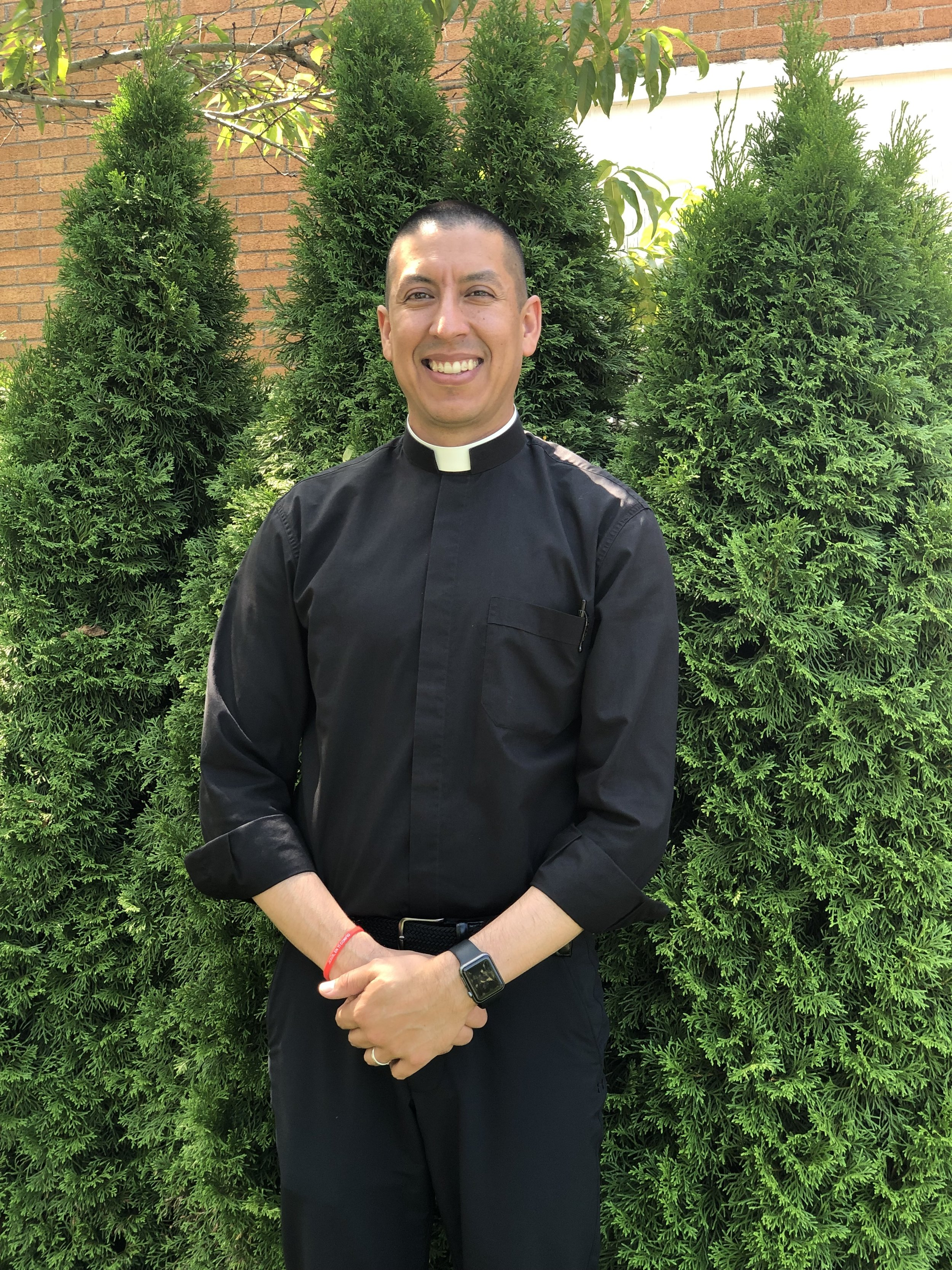 Fr. Roque Meraz - Associate Pastor219-962-8626Email: roquemeraz@gmail.com