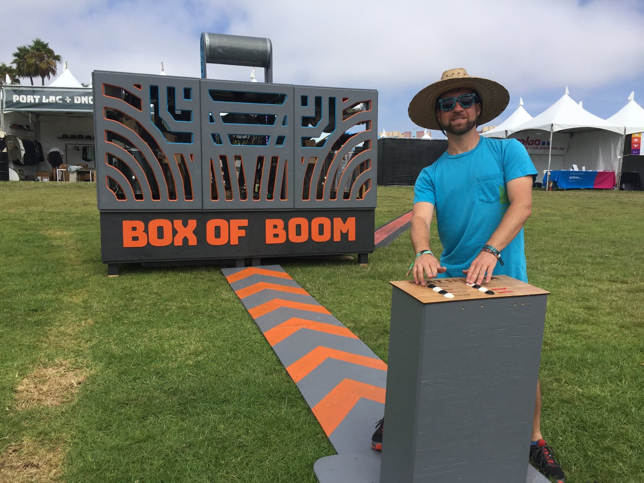 The debut of the Box of Boom at the Music Tastes Good 2017 Festival in Long Beach, CA.
