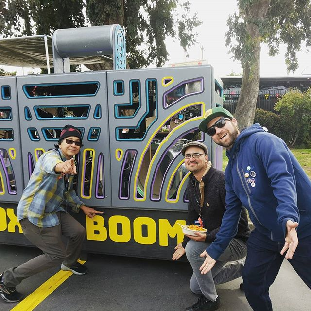 @moneymarkofficial thanks for dropping by the #boxofboom here at #makerfaire2018