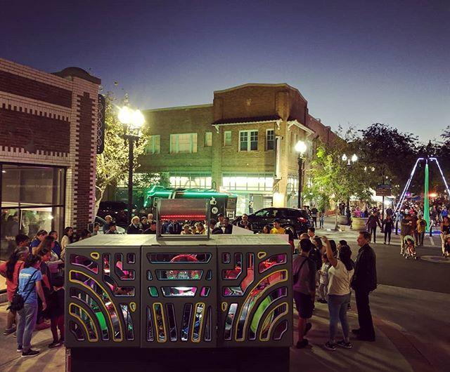 Fun night at the Sound Wave event at the Oct. art walk in Santa Ana!  #boxofboom #santaanaartwalk