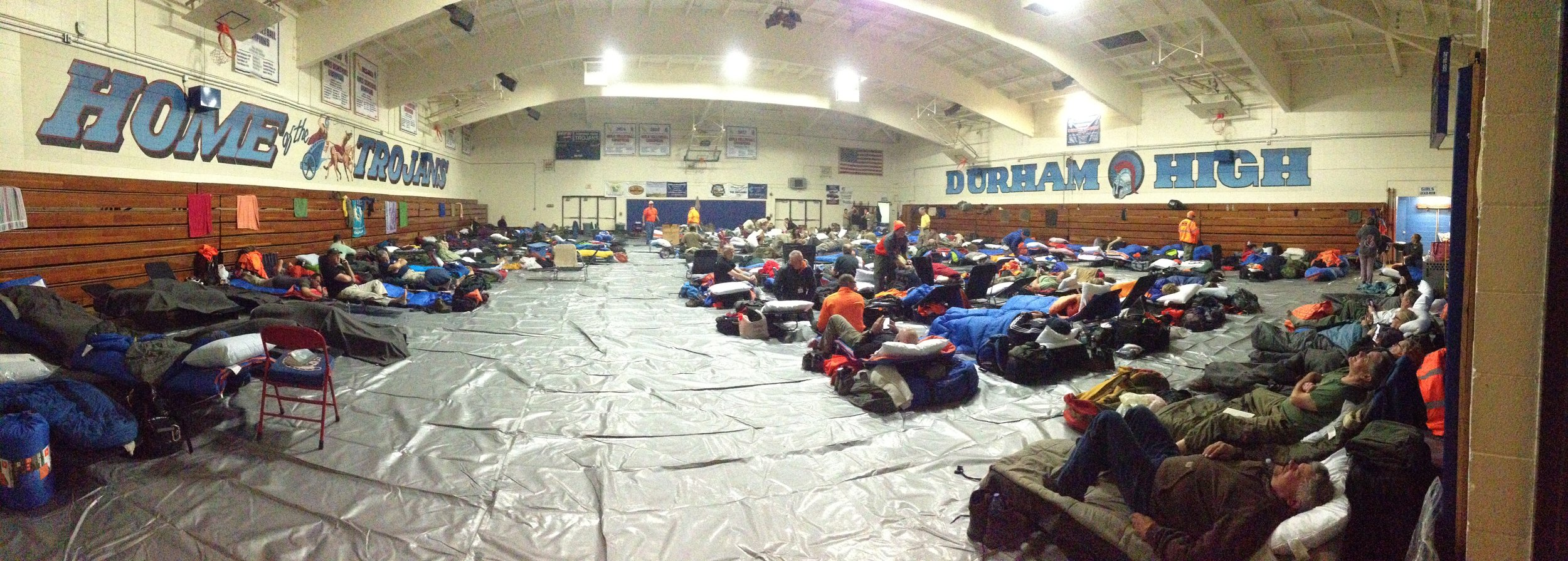 A room full of the most selfless people in California — Durham High School, CA — November, 12th, 2018 — iPhone panorama