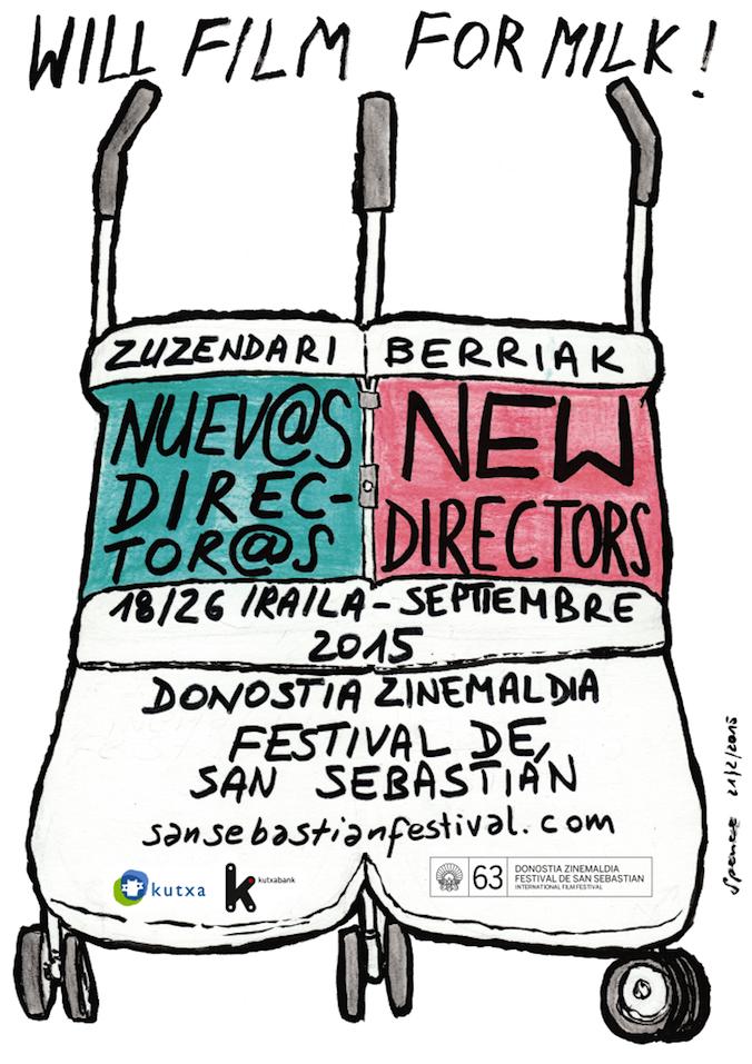 63rd San Sebastian International Film Festival - New Directors Section Official Poster