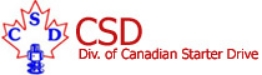 Canadian Starter Drive Products Logo