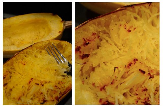 ANNIEMADE Recipe Low Carb Carbonara with Spaghetti Squash - Squash Noodles