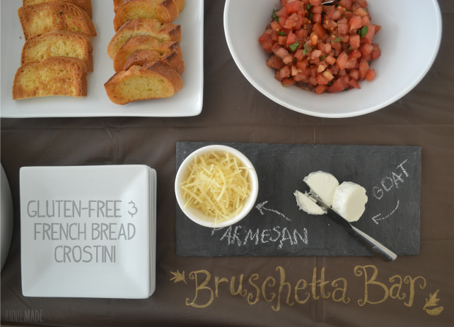 anniemade Appetizers - Host a Bruschetta Bar!