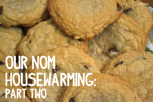 anniemade Cookie Exchange Housewarming Part 2 - Free Printables