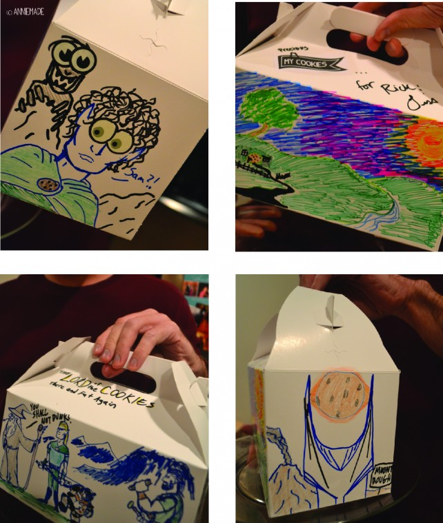 anniemade Lord of the Rings Cookie Box