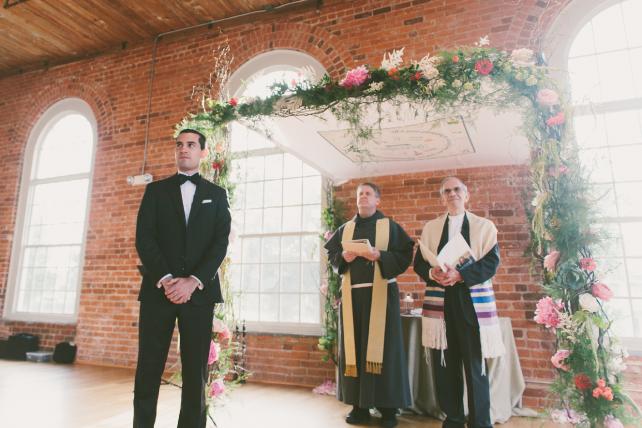 anniemade // Custom Fabric Chuppah Design (Jewish Wedding Canopy)