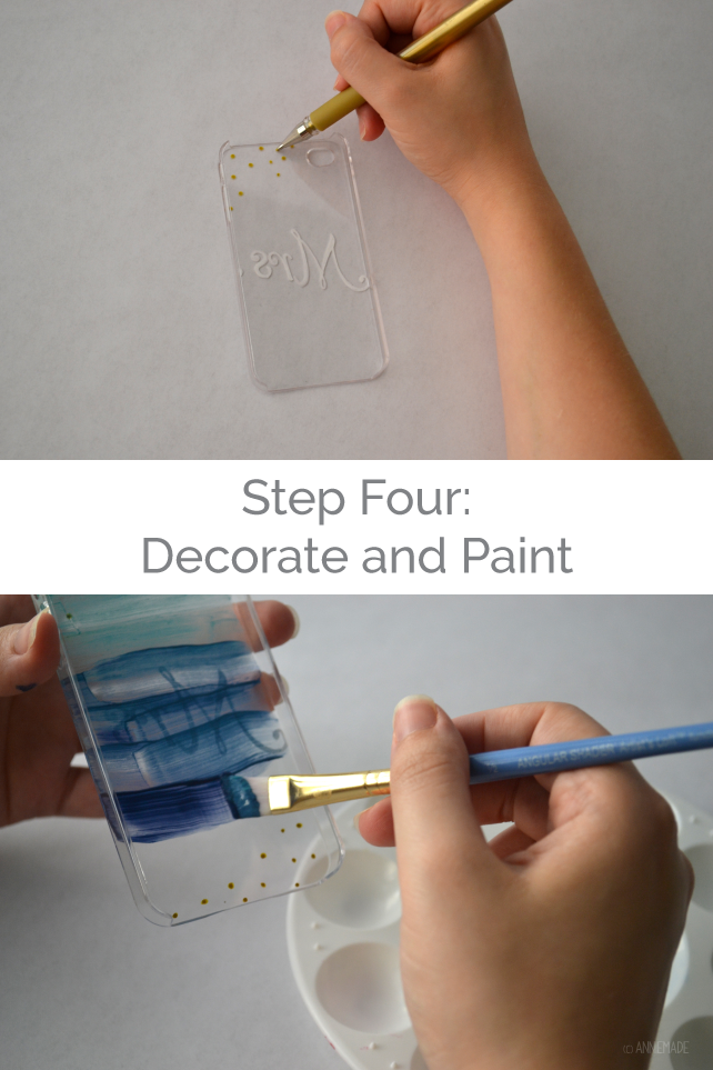 anniemade // DIY Hand-Painted iPhone Cases - Easy Tutorial