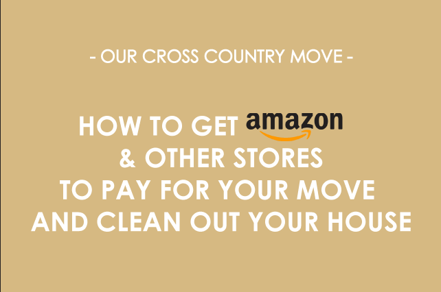 anniemade // Clever tips for spring cleaning or big move - How to get Amazon and other stores to help you pay to do it!