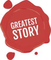 Greatest Story Creative - Logo for Agency centered on Storytelling