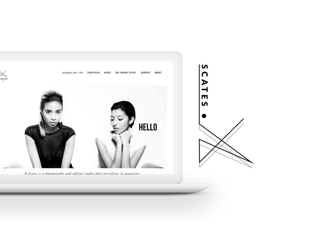 K Scates Web Design - Revamp, Amor Design Studio