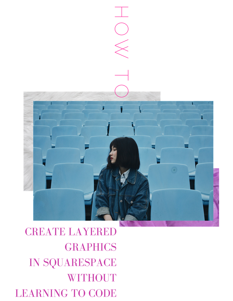 layering images effect in Squarespace