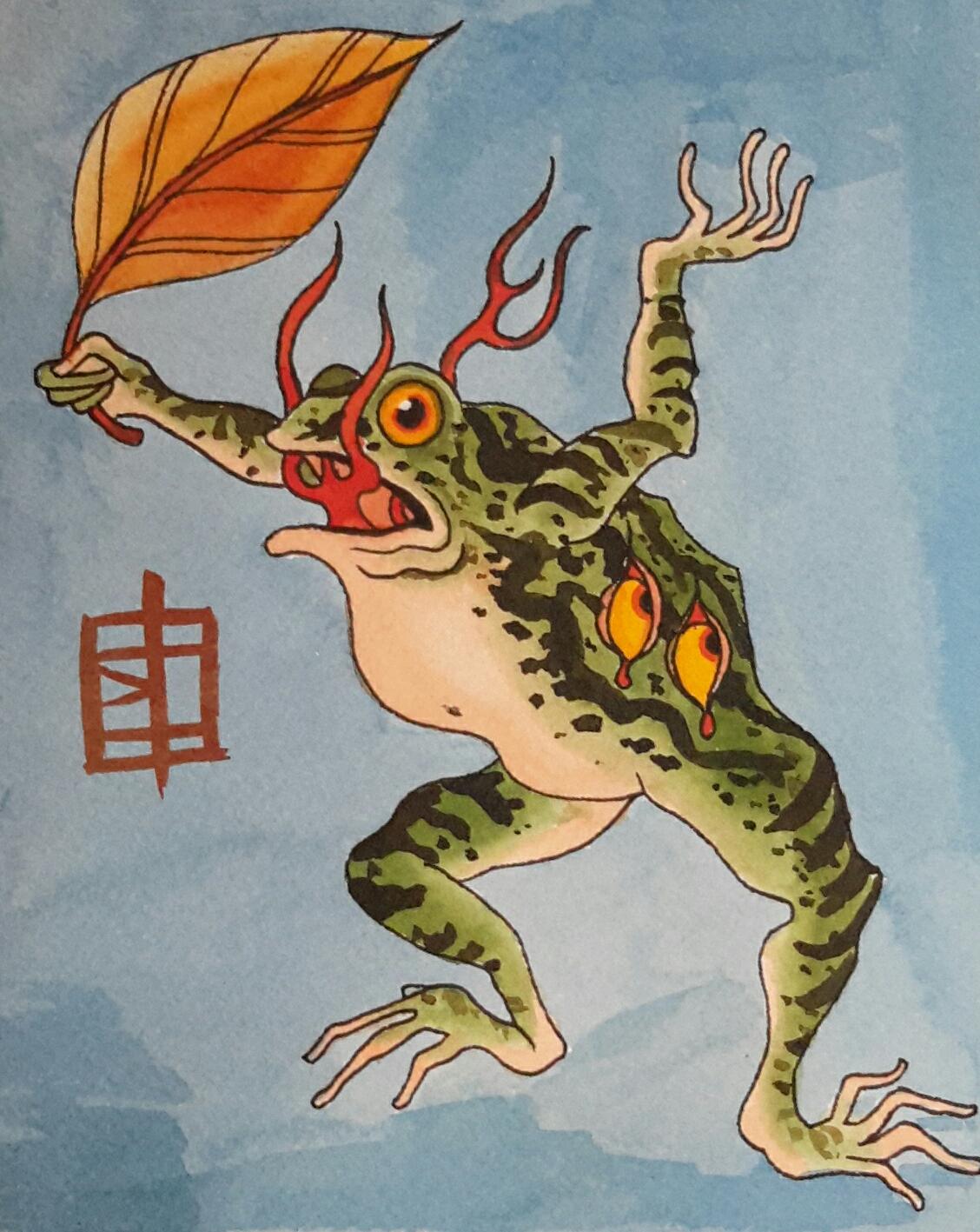 Flaming Frog