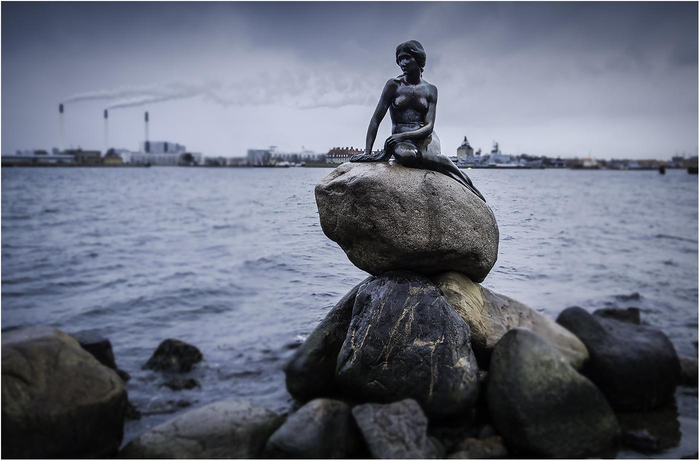 Русалочка - символ Копенгагена