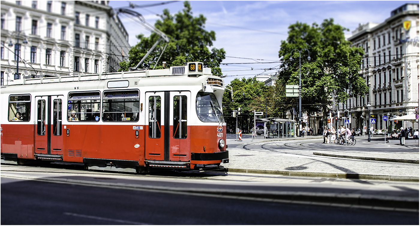 Венский трамвай опережает по популярности Венский метрополитен