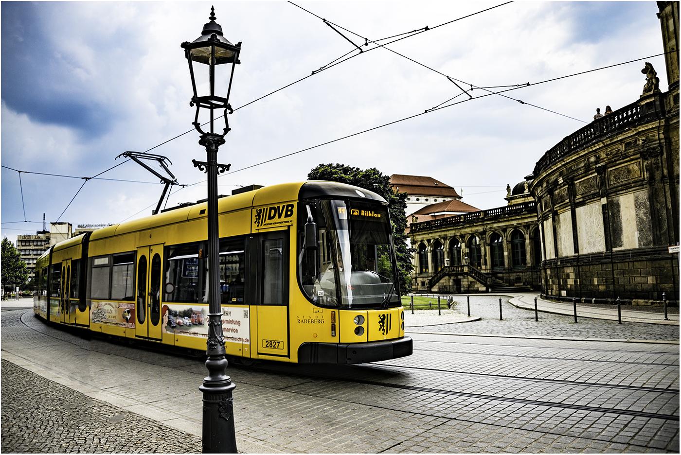 Дрезденский трамвай